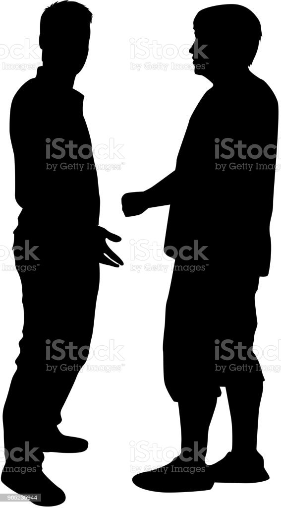 Business people. Silhouettes conceptual. royalty-free business people silhouettes conceptual stock vector art & more images of adult