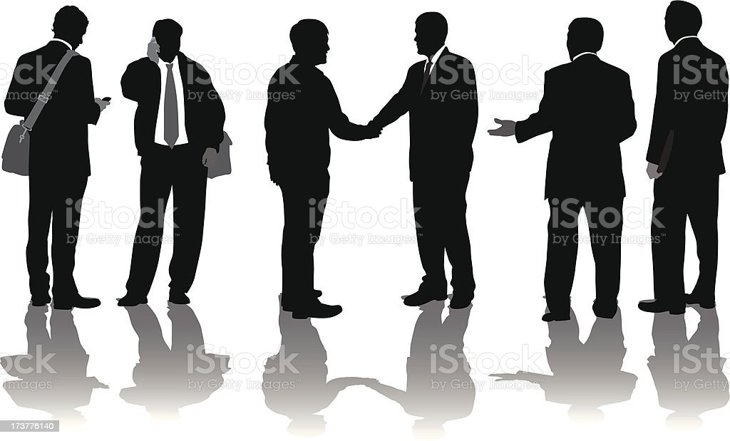 Business People royalty-free business people stock vector art & more images of illustration