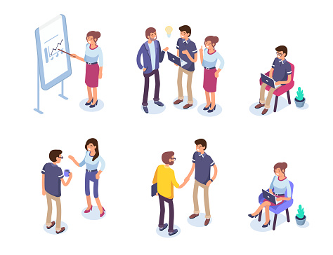 Business People Stock Illustration - Download Image Now
