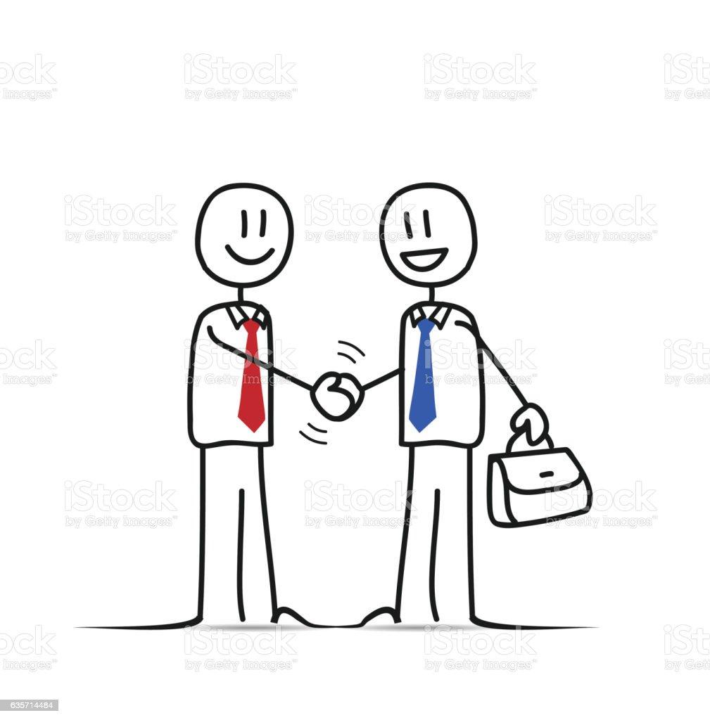 Business Peoples Handshake royalty-free business peoples handshake stock vector art & more images of adult