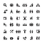 Business Person and Human Resources icons.