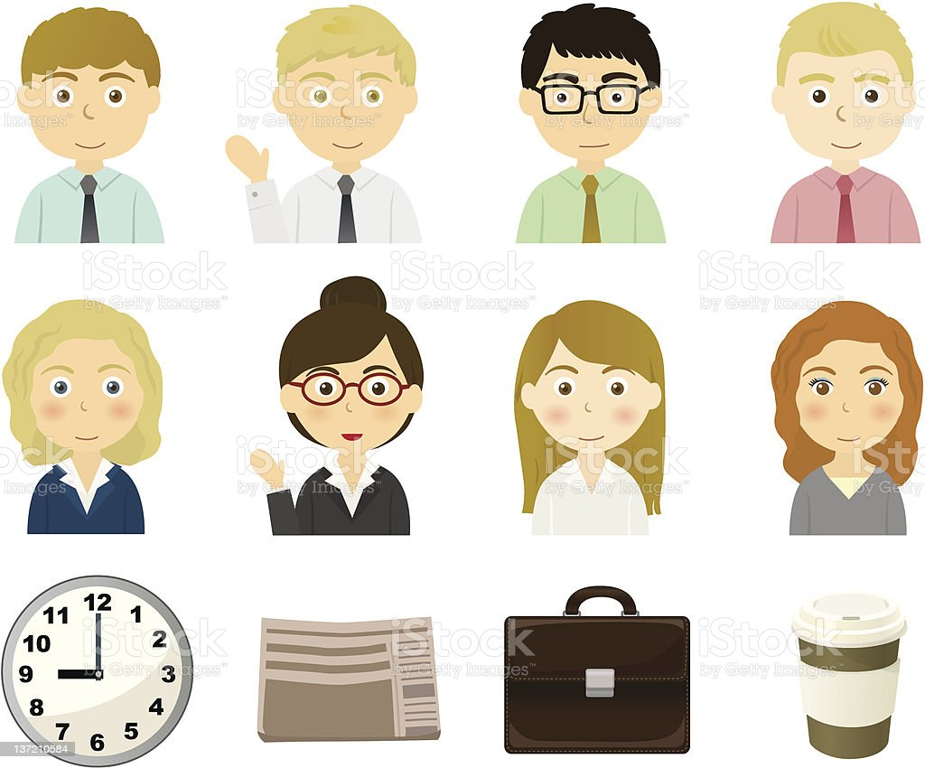 Business person royalty-free stock vector art