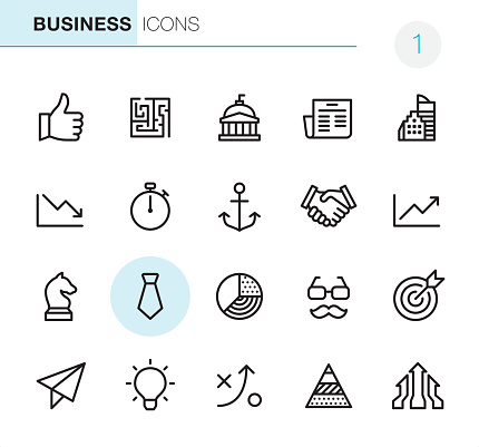 Business - Pixel Perfect icons