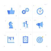 Business Plan Icon Set