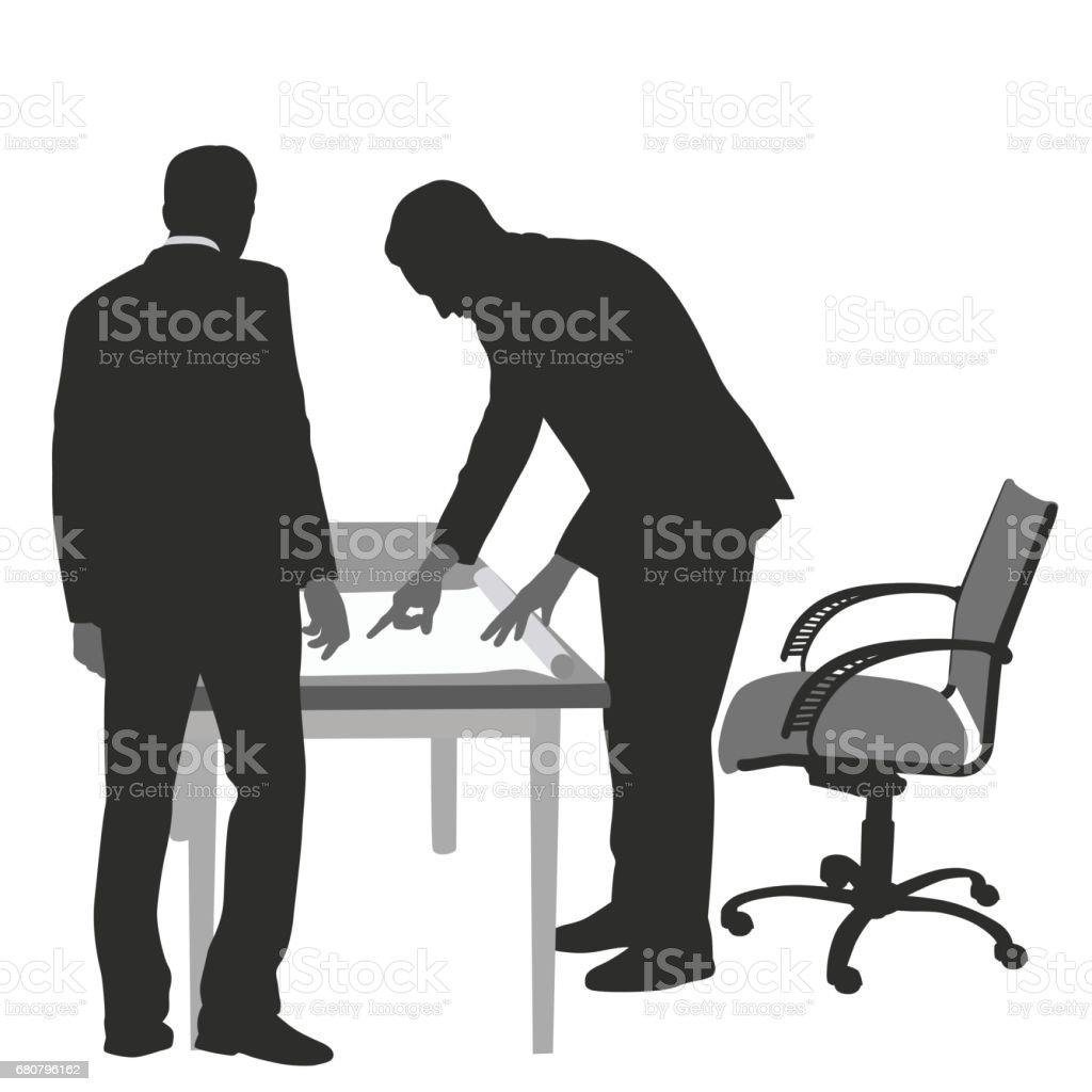 Business Plan Instructions vector art illustration