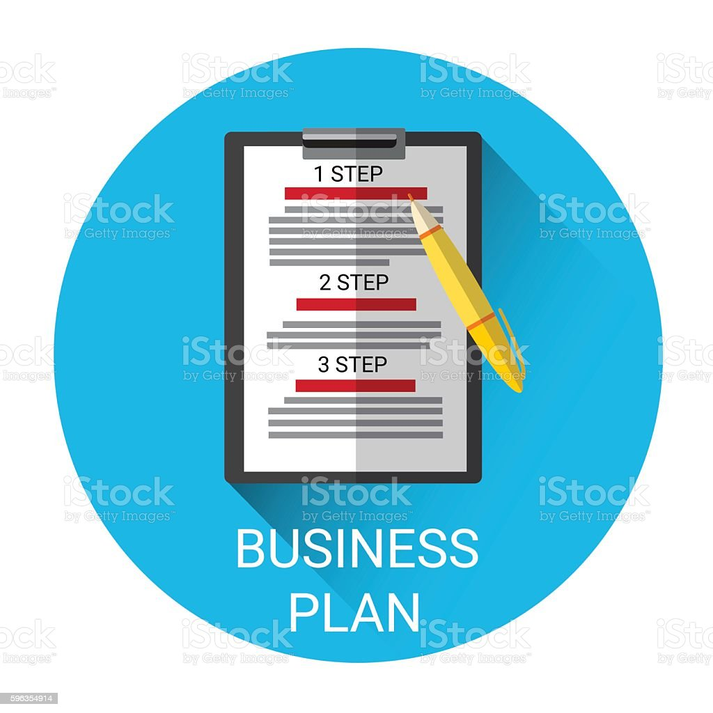 Business Plan Strategy Icon royalty-free business plan strategy icon stock vector art & more images of business