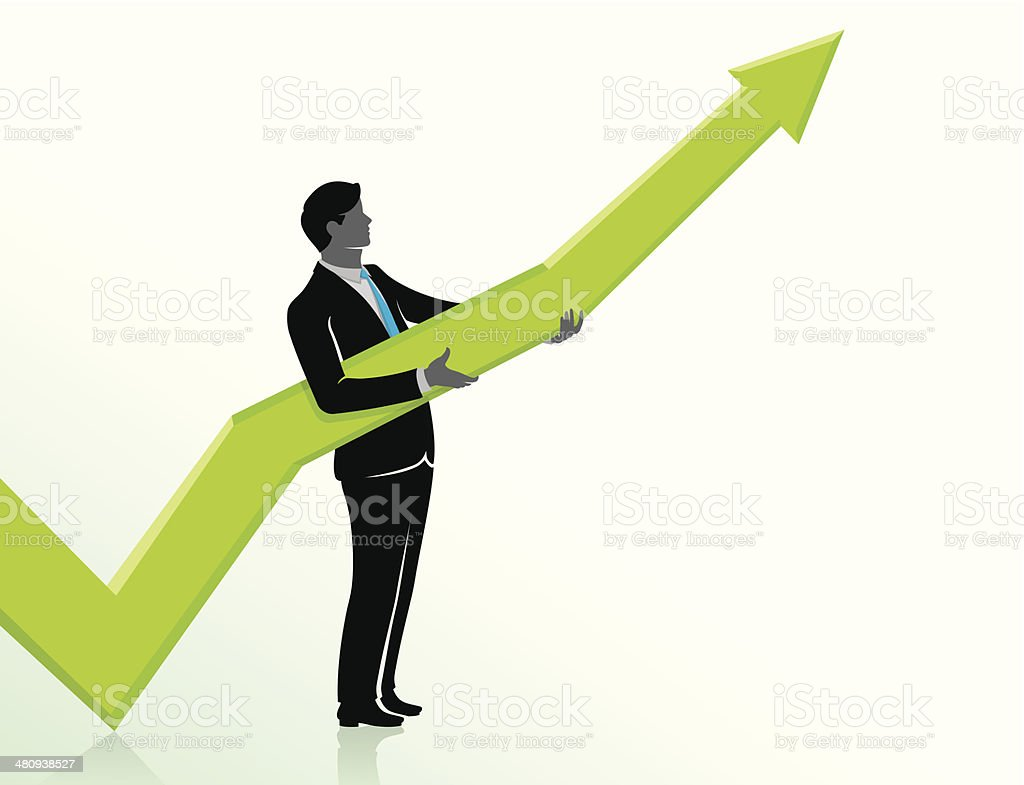 Business Positioning Growth royalty-free stock vector art