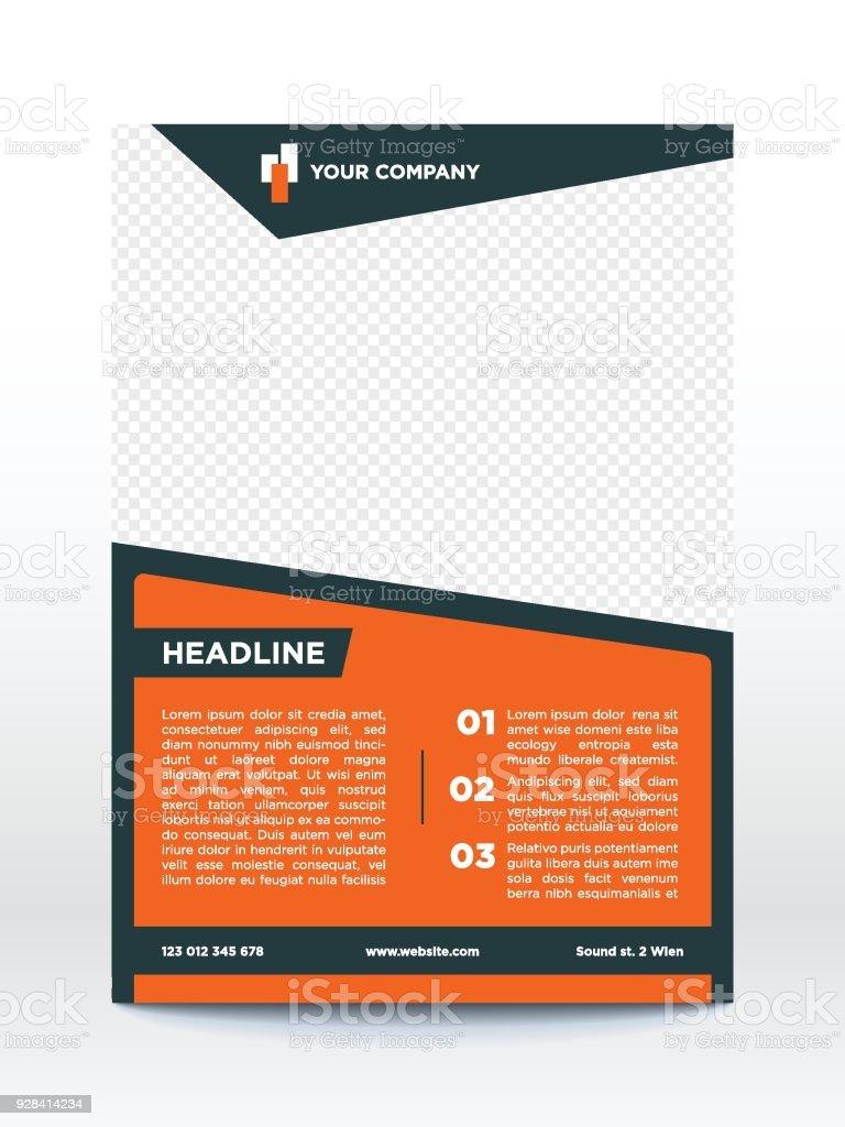Business poster template flyer brochure design layout stock vector business poster template flyer brochure design layout royalty free business poster template flyer wajeb Images