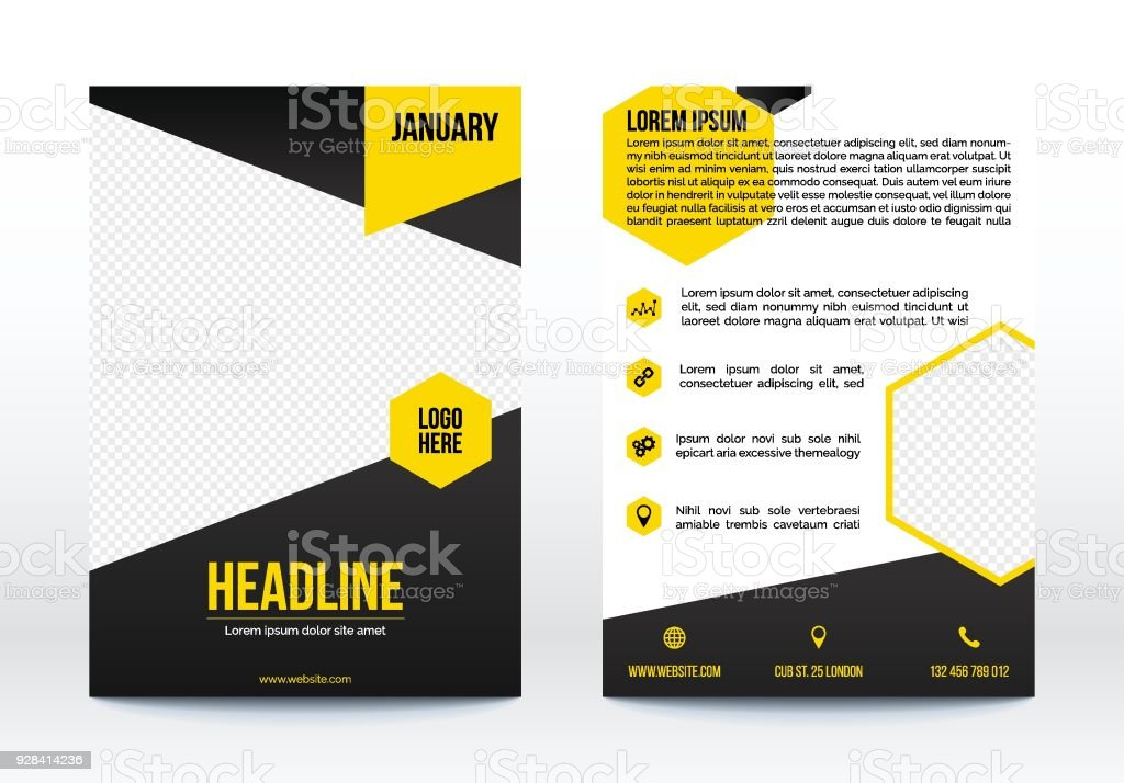 Business poster template flyer brochure design layout stock vector business poster template flyer brochure design layout royalty free business poster template flyer wajeb Gallery