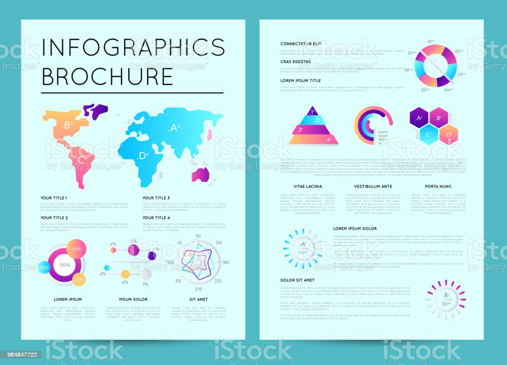 Business presentation template with infographics royalty-free business presentation template with infographics stock vector art & more images of abstract
