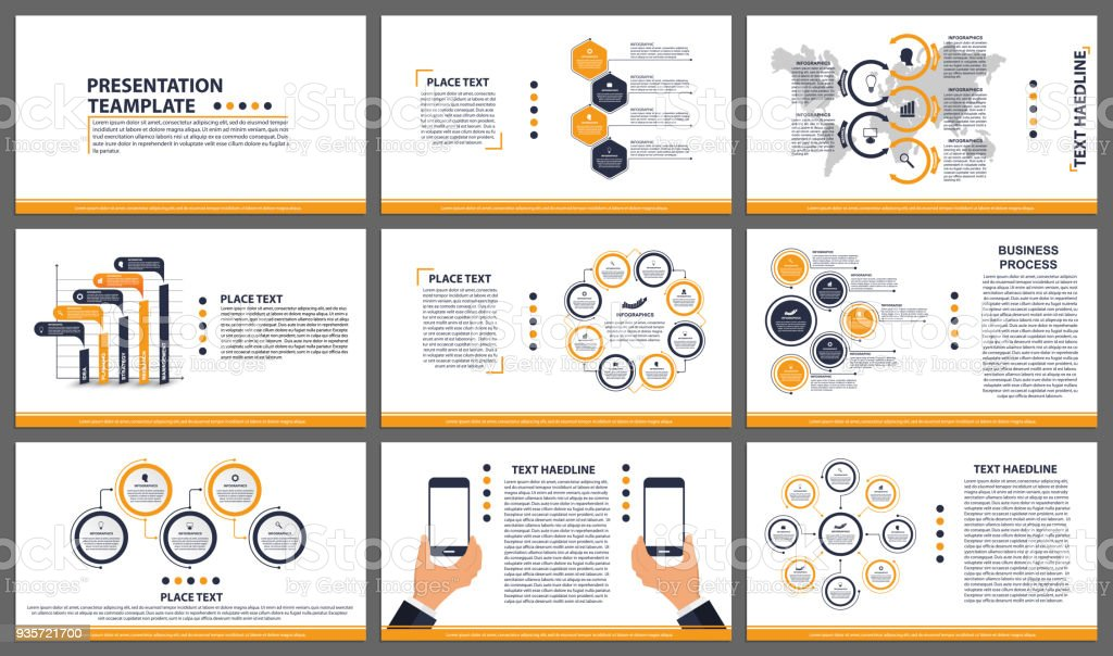 business presentation templates modern elements of infographic can