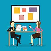 Meeting, Business, Marketing, Analyzing, Teamwork