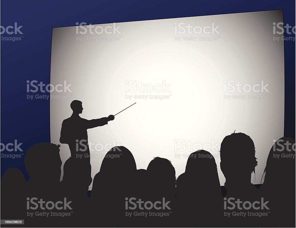 Business Presentation (vector) royalty-free stock vector art