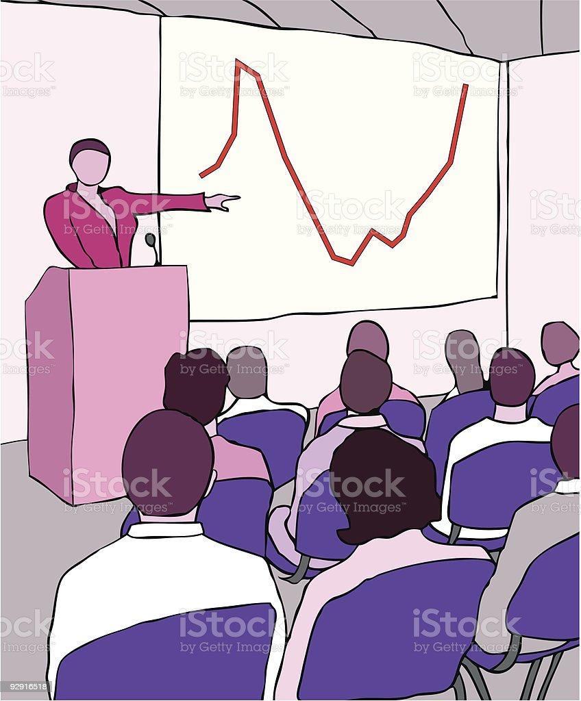 Business Presentation (vector & jpeg) royalty-free stock vector art