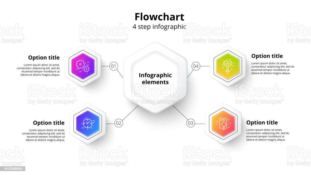 Business process chart infographics with 4 step segments circular business process chart infographics with 4 step segments circular corporate timeline infograph elements company flashek Images