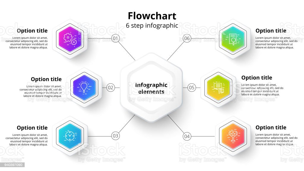 Business process chart infographics with 6 step segments circular business process chart infographics with 6 step segments circular corporate timeline infograph elements company flashek Images