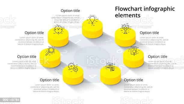 Business process chart infographics with 7 step segments isometric 3d vector id999149784?b=1&k=6&m=999149784&s=612x612&h=vc7rosm88lhmvpgdkkyc9cjxa77iyrdpsiqgvt4rxbe=