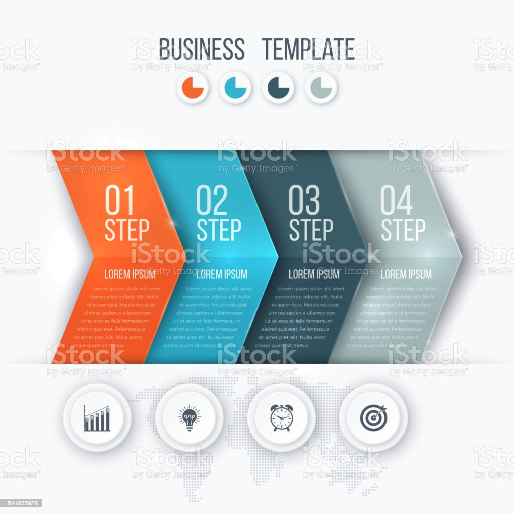Business project template with arrows royalty-free business project template with arrows stock illustration - download image now