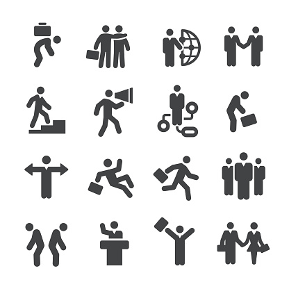 Business Relationship Icons - Acme Series