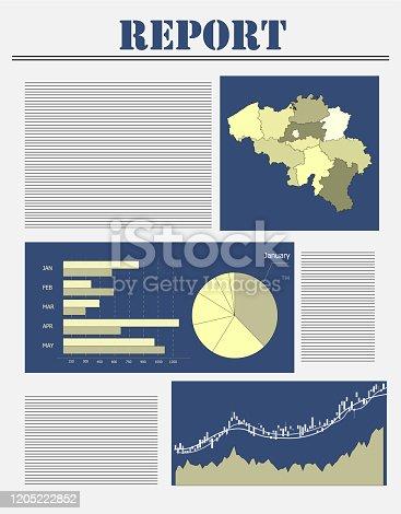 A business report of Belgium.
