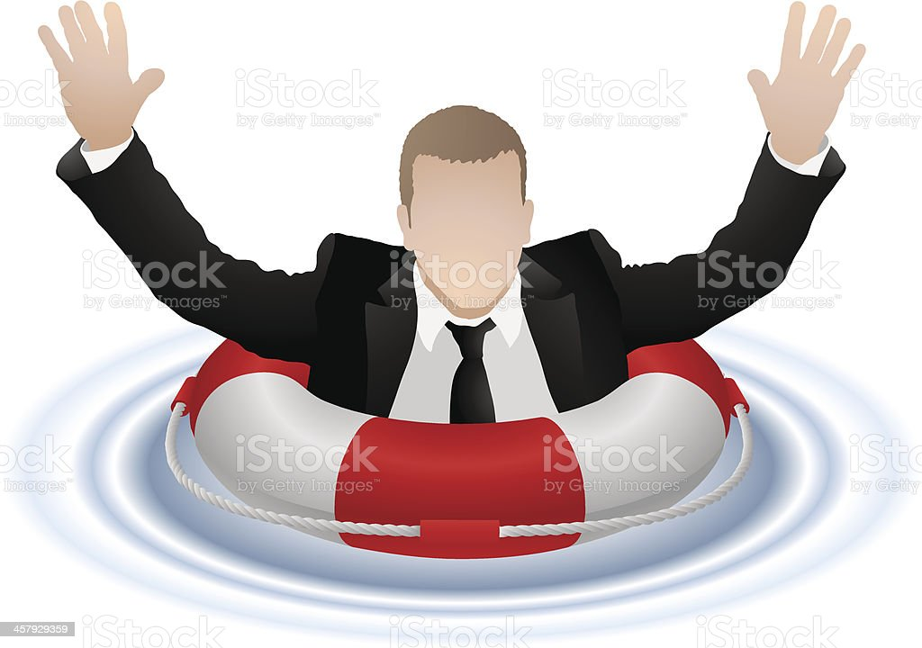 Business Rescue royalty-free business rescue stock vector art & more images of adult