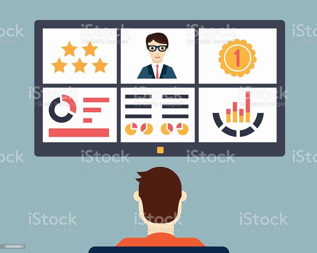 Reanudar Con Información Personal De Negocios - Arte vectorial de ...