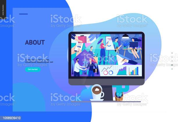 Business series about company office life web template vector id1058926410?b=1&k=6&m=1058926410&s=612x612&h=070zvmdf2n mn6kwz3cpg4hvxpddozozezzxdipcwie=