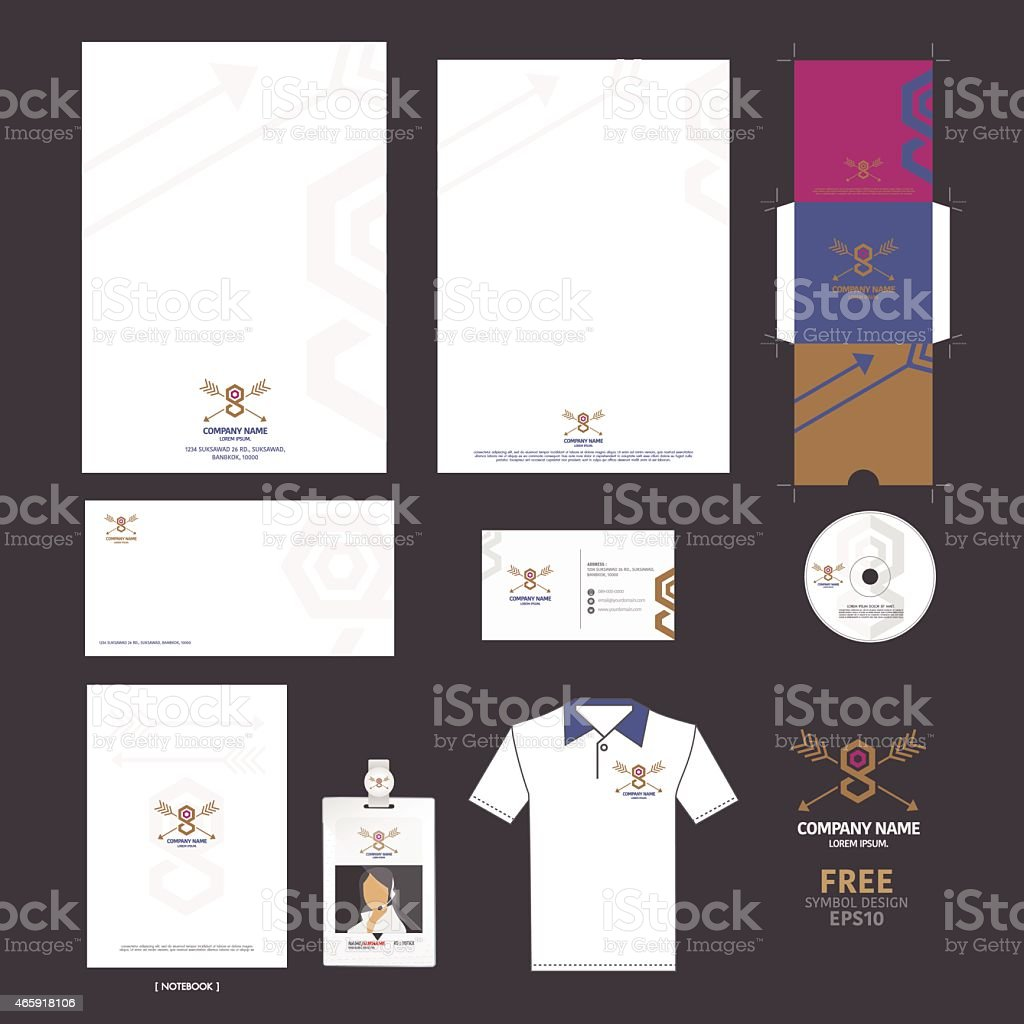 Business set and symbol premium for you. vector art illustration