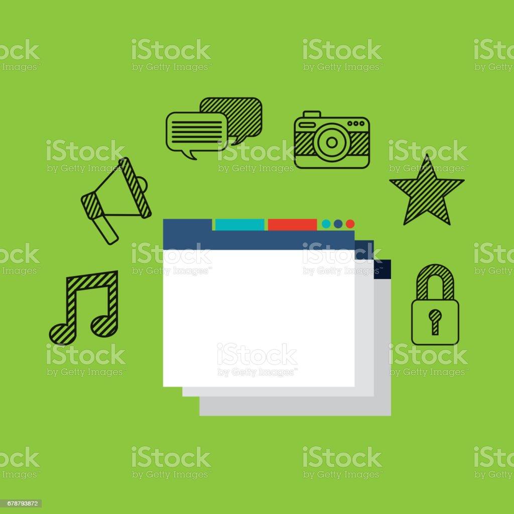 Business set plats icônes business set plats icônes – cliparts vectoriels et plus d'images de affaires libre de droits