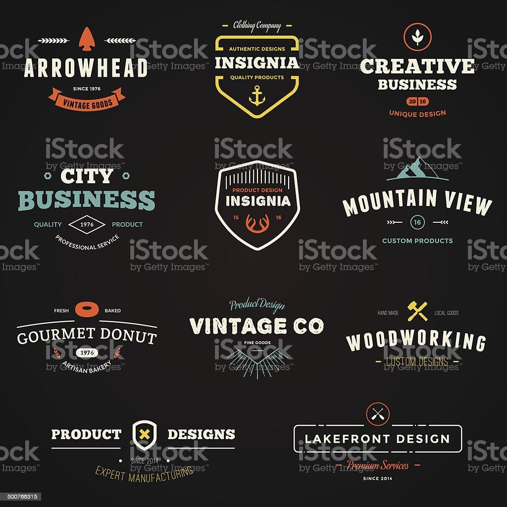 Business sign graphics vector art illustration