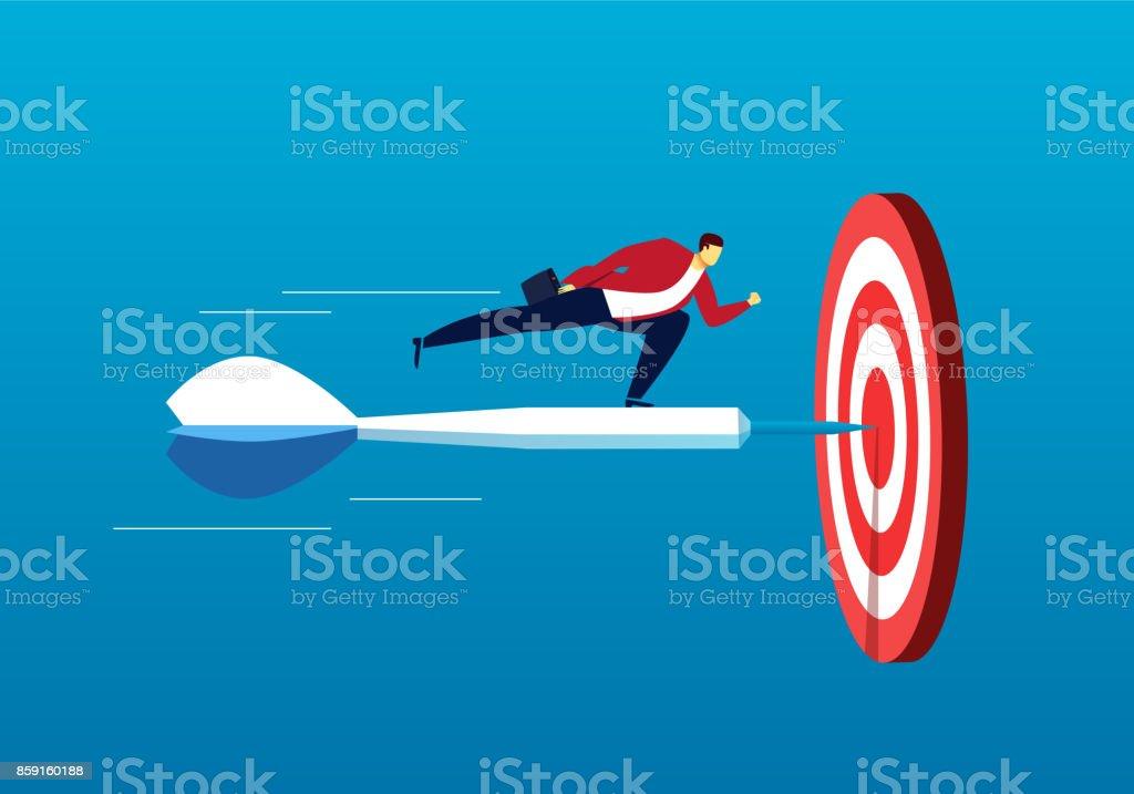 Business Strategic Objectives vector art illustration