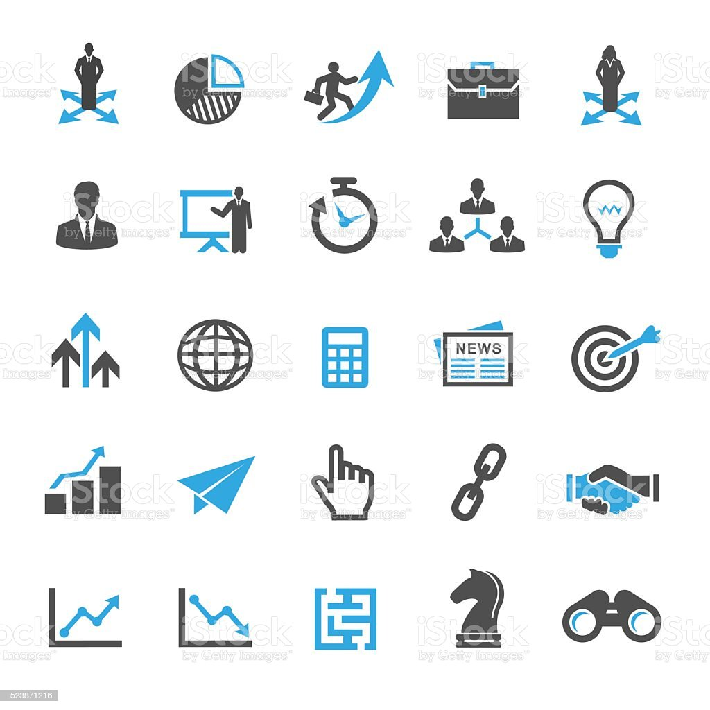 Pricing Strategy Icon: Business Strategy Icon Set Stock Vector Art & More Images