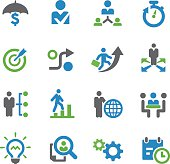 Business Strategy Icons - Spry Series