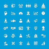 Business Strategy related vector icons