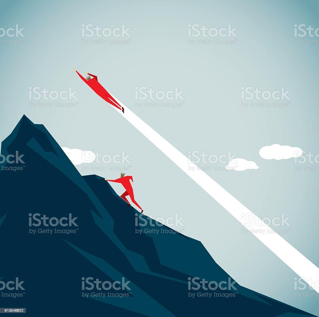 Strategia di Business  - illustrazione arte vettoriale