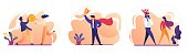 Business Success, Family, People Money Icon Set