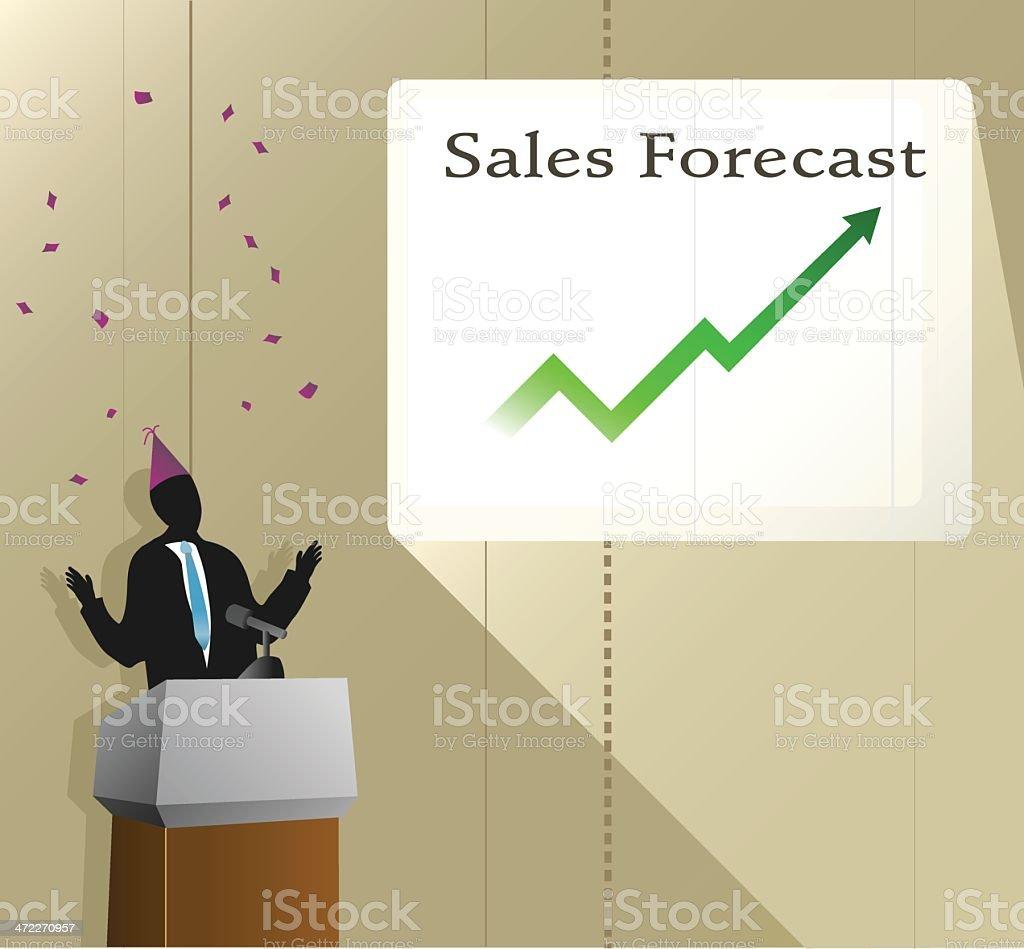 Business Success [vector] royalty-free stock vector art