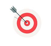 istock Business Target Vector 1281956272
