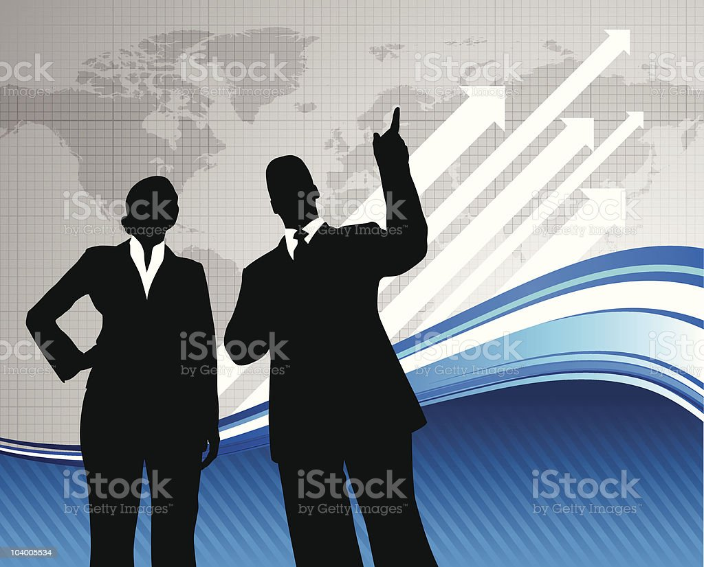 Business team background with world map royalty-free business team background with world map stock vector art & more images of 20-29 years