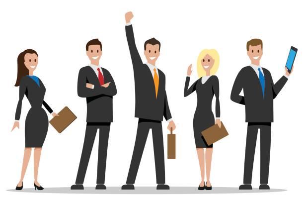 Business team Personen – Vektorgrafik