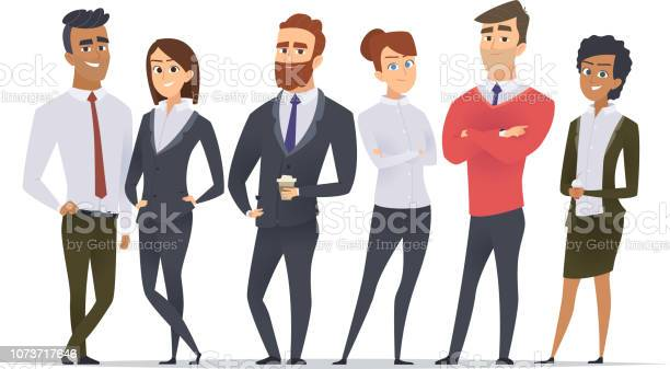 Business team professional workers happy partners group team building vector id1073717646?b=1&k=6&m=1073717646&s=612x612&h=02b6krptyg3szdngbmpnyin4i9d8mppd hkwefpbg4s=