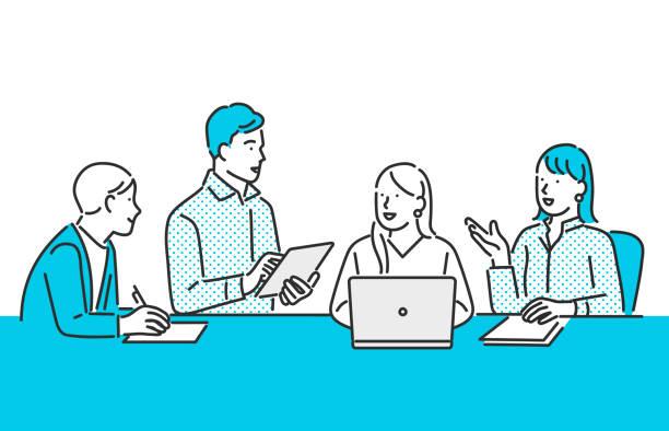 ビジネスチームの仕事 - 企業点のイラスト素材/クリップアート素材/マンガ素材/アイコン素材