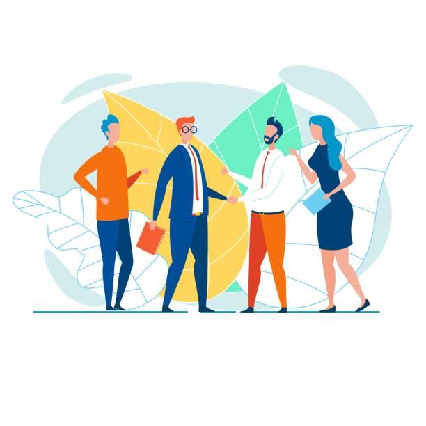 bildbanksillustrationer, clip art samt tecknat material och ikoner med affärsteam skakar hand och gratulerar - client meeting