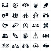Business Teamwork Icons