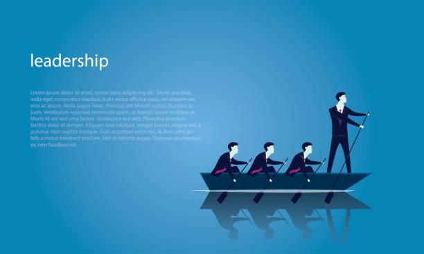 Unternehmen Teamwork zum Erfolg zusammen – Vektorgrafik