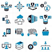 istock Business Technology Icons and Symbols 472262302