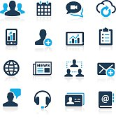 Business Technology Icons - Azure Series