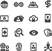 Business Technology Trends Icons - Acme Series