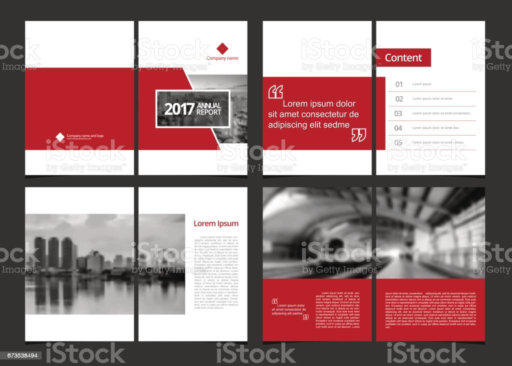 Business template cover design for annual report, catalog, magazine, flyer, booklet or brochure. Template layout design cover, content page and inner page. A4 cover vector EPS-10 sample image with Gradient Mesh. vector art illustration