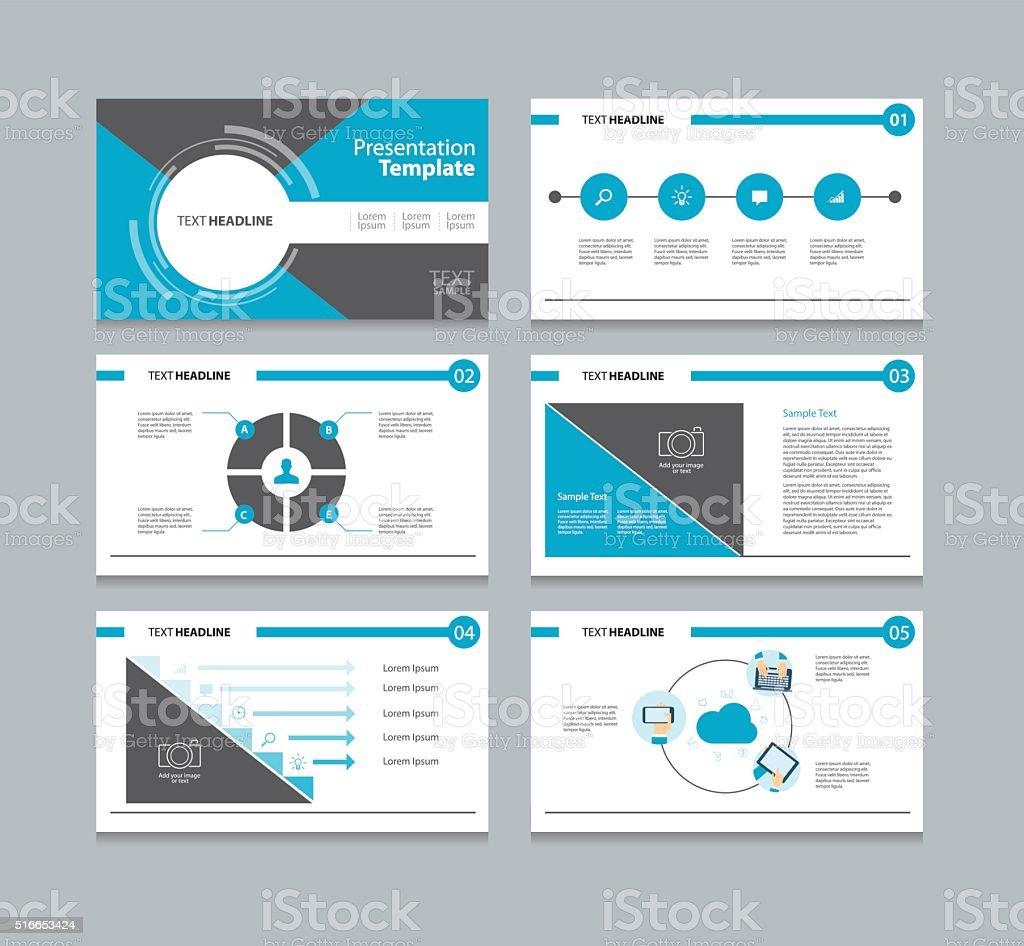 ビジネステンプレートのプレゼンテーションスライドの背景デザイン